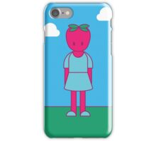 Strawberry Girl iPhone Case/Skin