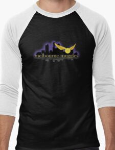 Melbourne Muggles - Unsorted Men's Baseball ¾ T-Shirt
