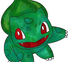 Bulbasaur Leaf Design by Morware