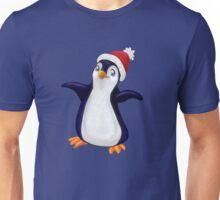 Happy Holidays Penguin Unisex T-Shirt