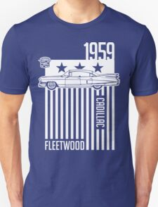 1959 Cadillac Sixty Special Fleetwood illustration Unisex T-Shirt