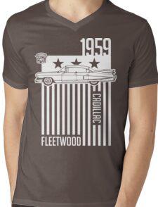 1959 Cadillac Sixty Special Fleetwood illustration Mens V-Neck T-Shirt