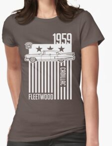 1959 Cadillac Sixty Special Fleetwood illustration Womens Fitted T-Shirt