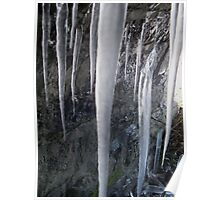 Large Icicles 2 Poster