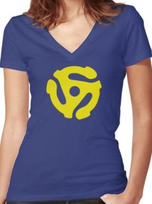 Spider Man Women's Fitted V-Neck T-Shirt