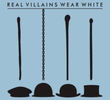 Real Villains Wear White Kids Clothes
