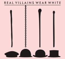Real Villains Wear White Baby Tee