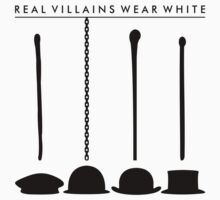Real Villains Wear White by hazyoasis