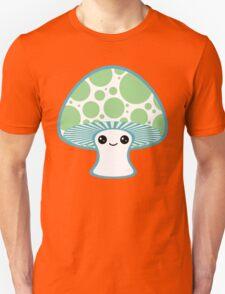 Green Polka Dotted Mushroom T-Shirt