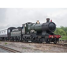 GWR 3700 Class 3440 City of Truro Photographic Print