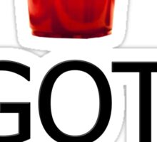 GOT NEXT - Beer Pong Sticker