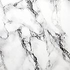 White Marble Stone, Gray Accents by artonwear