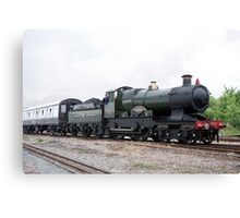 GWR 3700 Class 3440 City of Truro Canvas Print