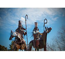 Blackfoot Tribe Photographic Print
