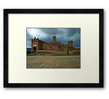 San Javier Castle Framed Print