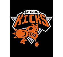 Kicks Saffron Photographic Print