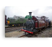Palmerston No 4 Steam Train Canvas Print
