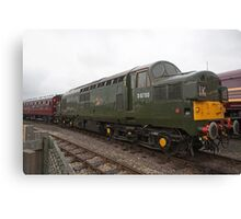 British Rail class 37 diesel-electric Locomotive Canvas Print