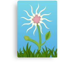 The Fertility Flower Canvas Print