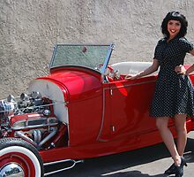 Red Roadster by WildBillPho