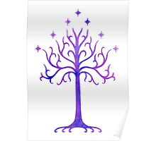 LOTR // TREE OF GONDOR // MINIMALIST POSTER Poster