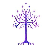 LOTR // TREE OF GONDOR // MINIMALIST POSTER Photographic Print