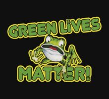 Green Lives Matter One Piece - Short Sleeve