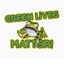 Green Lives Matter Kids Tee