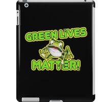 Green Lives Matter iPad Case/Skin