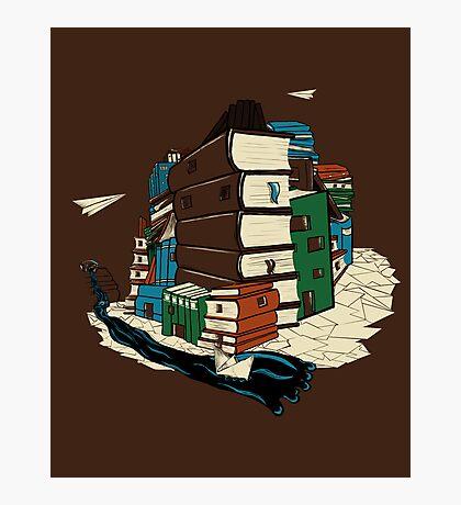 Book City Photographic Print