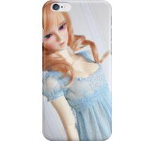 . romantic blue . iPhone Case/Skin