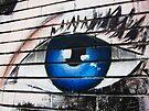 Detail of street art, Bristol, UK by buttonpresser