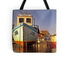 Gorey castle from kayak Tote Bag