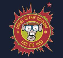 I.T Hero - Use Free Software One Piece - Short Sleeve