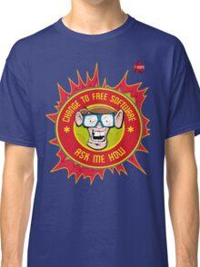 I.T Hero - Use Free Software Classic T-Shirt