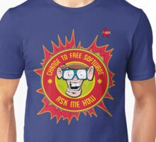 I.T Hero - Use Free Software Unisex T-Shirt
