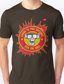 I.T Hero - Use Free Software T-Shirt