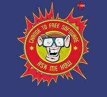 I.T Hero - Use Free Software Unisex T-Shirt