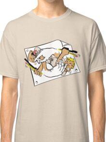 Nostrilympics - on Creme Classic T-Shirt