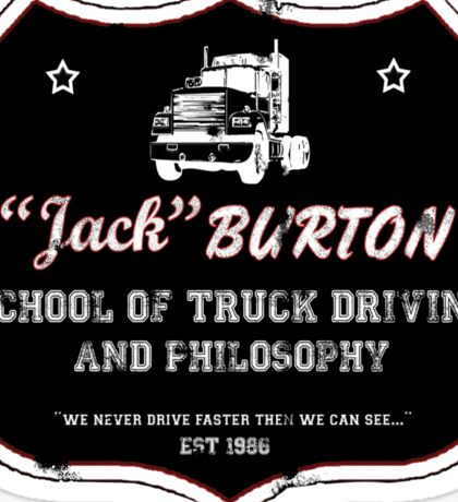 Jack Burton Trucking Sticker