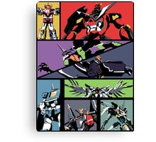 Super Robots Canvas Print