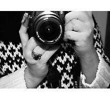 Self portrait of the artist Photographic Print