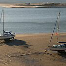 Barmouth Estuary in morning light by StephenRB