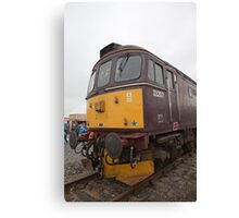 33207 at Railfest 2012 in York Canvas Print