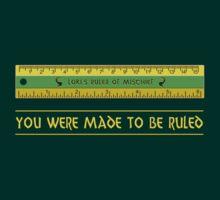 Loki's Ruler of Mischief T-Shirt