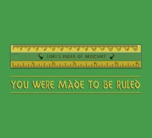 Loki's Ruler of Mischief Kids Clothes