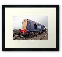 Direct Rail Services at Railfest 2012 in York Framed Print