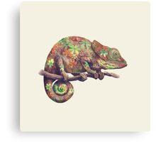 Hippy Chameleon  Canvas Print