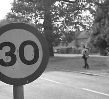 30 sign by Aaron  Wahab