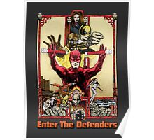 Enter The Defenders Poster
